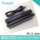 Best Quality Magnetic Card Reader with Cheapest Price POS Card Reader (MSR135U)
