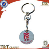 Custom Cheap Metal Trolly Coin with Keychain (FTTC2608J)