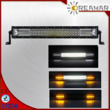 "21.5"" Tri-Row 120W 1.5W ETI LED Light Bar with White and Amber Lighting"
