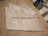 Cheap Natural Beige Sandstone for Flooring Tile/Wall Cladding/Window Sill