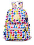 New Featured Mixed Color Fashion Style Double Shoulder Bag Leisure Nylon Waterproof Fabric School Backpack (3) Zh-Bbk103