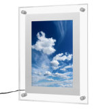 Promotional Magnetic Two Side Acrylic Picture Frame for Home Decoration