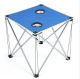 Outdoor Ultra Light Portable Blue Oxford Cloth Folding Table