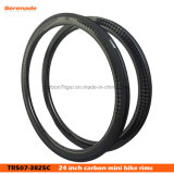 BMX Race Road Rims 507 High Quality Full Carbon Rims 38mm 25mm Clincher, 24′′ Small OEM Rims, Lightweight and Durable Quality