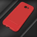 New Carbon Fiber TPU Phone Case for Samsung A5 2017