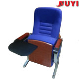 Jy-989 Factory Price Steel Leg Armrest Chair with Pads Hall Chair Public Furniture