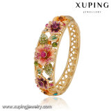 Newsales Fashion Xuping Rose Gold-Plated Imitation Jewelry Bangle with 8 Number in Stainless Steel Jewelry