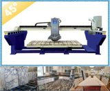 Granite Bridge Saw with Blade Tilting 45 Degree for Miter Cut (XZQQ625A)