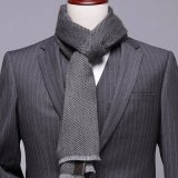 New Winter Thick Warm Herringbone Design Woven Fashion Men Scarf