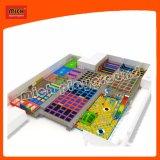 Kids Professional Trampoline Colorful Amusement Park