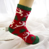 Winter Warm Cat Paw Socks for Women Thick Coral Fleece Girls Sleeping Fuzzy Socks Home Floor Cute Claw Socks Christmas