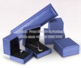 Custom Popular Cheap Blue Jewelry Gift Pack Display Box