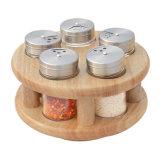 Kitchen Revolving Spice Jar Storage Rack Spice Rack