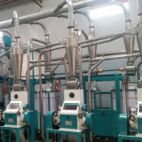 20t/24h Maize Flour Milling Machine Running in Tanzania