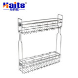 Pantry Wire Pull-out Soft Closing Slide Kitchen Base Storage Basket