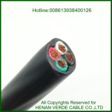 Copper Wire PVC Insulated Nylon Sheath Construction Installation Thhn Electric Power Cable