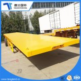 Cheap 3 Axles Container Flatbed Trailer Sale/Flat Bed Semi Trucks Trailers