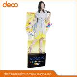 Paper Floor Display Standee Advertising Equipment for Store Selling
