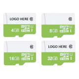 Factory Wholesale Micro SD Card Printing Your Logo 8g 4G16GB Class 10 Made in Taiwan (TF-4007)