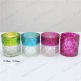 Factory Manufacturer Colorful Candle Holder Glass Wholesale