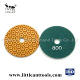 Wet Use Diamond Flexible Polishing Pad for Granite/Marble
