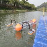 Wholesale Logo Customized Two Seats Transparent Polymer Kayak for Rowing Crystal Kayak