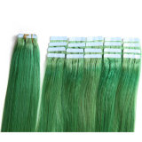 "7A Tape Hair Extensions 16"" 18"" 20"" 22"" 24"" 20PCS/Set Tape in Remy Human Hair Skin Weft Brazilian Hair Extension"