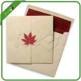 Blank Gift Card and Envelope with Maple Closure