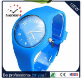 2015 Blue Charm Rubber Quartz Wrist Watch (DC-964)