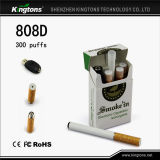 808d Disposable 300 Puffs Electronic Cigarette with Rechargeable Battery