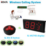 Digital Table Ordering Calling System Number Screen with Transmitter