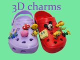 New Design Eco-Friendly 3D Shoes Charms