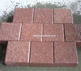 Red Porphyry Flamed Paving Stone for Exterior