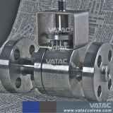 Forged Steel Lever Operated R. F Ends Full Port Floating Ball Valve