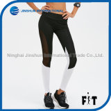 Women Sexy Mesh Slim Sports Leggings Quick Dry Workout Running Tights Female Gym Fitness Trousers