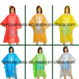 Cheap Colorful Hiking Camping Shows Emergency Pocket Rain Poncho