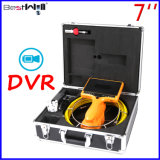 7inch Digital Screen DVR Pipe/Sewer/Drain/Chimney Video Inspection Camera 7DH