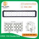 240W CREE Double Row LED Light Bar 4WD Boat Ute Driving