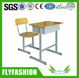 Cheap School Furniture Single Desk with Chair (SF-32S)