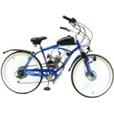 Beach Cruiser with Gasoline Engine 2 Stroke Gas Engine Motor