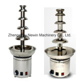 Stainless Steel 5tiers Chocolate Fondue Fountain