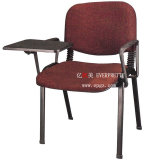 Upholstered Node University School Chair, Fabric Training Chairs with Tablet Arm