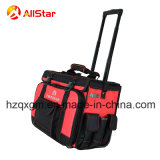 2018 Hot Sale Tool Bag Trolley Rolling Bag with Tension Bar and Wheels
