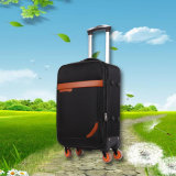 Unisex Travel Trolley Case White Wheels Large Travel Trolley Luggage