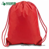 with Front Pocket and Earphone Hole Drawstring Backpack Pack