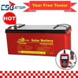 Csbattery 12V 100ah/150ah/200ah Deep-Cycle Gel Rechargeable Storage Battery for Solar/Inverter/Power-Tool/Electric-Scooter/Bicycle/Vehicle/Pack/6V/Csb