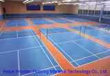 PVC Sports Flooring Volleyball/Badminton Court, Vinyl Sports Flooring Court Mat
