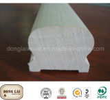 Building Material for Home Decoration MDF Wood Interior Stair Handrail Disabled