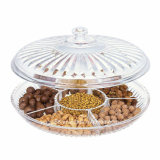 Creative Acrylic Multi Sectional Snack Serving Tray