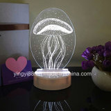 Top Selling 3D LED Light Room Decorative Night Lamp
